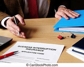 保険, 提供, 適用, ビジネス, 中断, エージェント, papers.