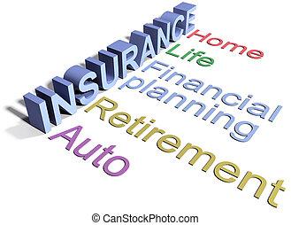 保険, 生活, 家, 自動車, サービス