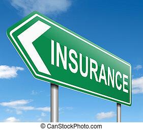 保険, concept.