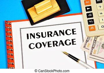 保険, coverage.