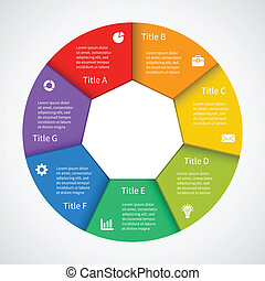 信息, 图表, 商业, 现代, 规划, 矢量