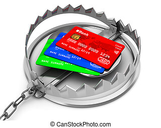 信用卡, 俘獲