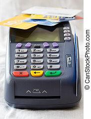 信用卡, 終端