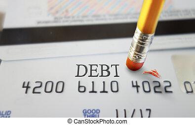 信用, 債務