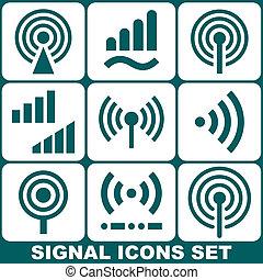 信號, 集合, 圖象