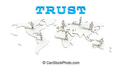 信頼, グローバルなビジネス