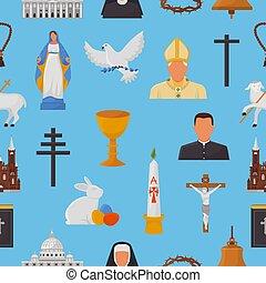 信頼, 聖書, キリスト教徒, キリスト, 聖書, アイコン, 神, 手, サイン, 交差点, イラスト, キリスト教, シンボル, 宗教, ベクトル, 背景, 教会, パターン, 祈ること, 宗教