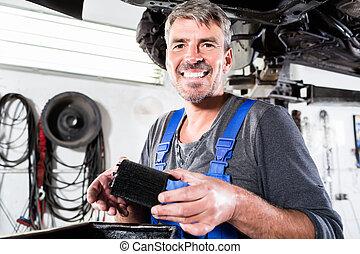修理, サービス, 仕事, 自動車修理工, 自動車