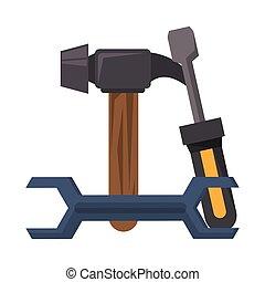 修理, 建設, 様々, 道具