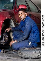 修理, 汽车机械士