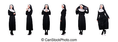 修道女, 概念, 宗教, 若い