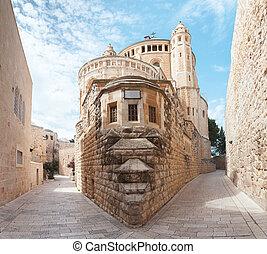 修道院, エルサレム, イスラエル, franciscan