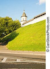 修道院, タワー, 丘
