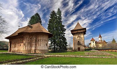修道院, ユーモア