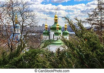 修道院, 中に, kiev