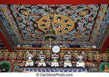修道院, 天井
