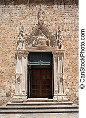 修道院, croatia, dubrovnik, franciscan, 入口