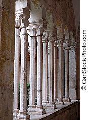修道院, croatia, franciscan, マイナー, 回廊, 修道士, dubrovnik
