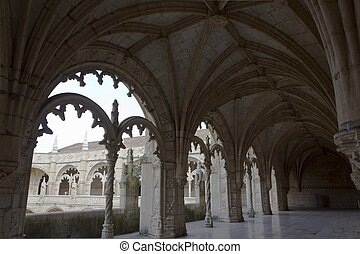 修道院, jeronimos, 玄関