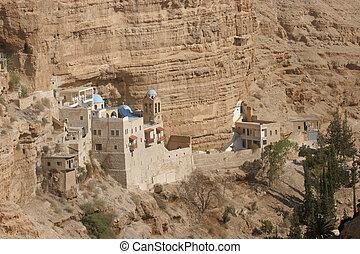 修道院, judea, ジョージ, 聖者, 砂漠