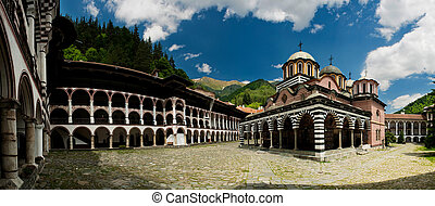 修道院, -, rila, ブルガリア