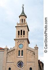 修道院, st. 。, frane, 教会, 分裂, croatia.