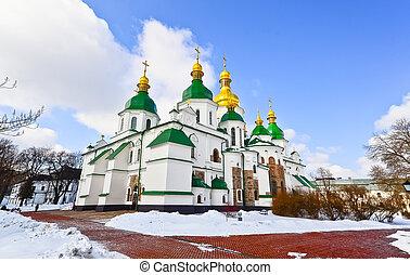 修道院, st. 。, sofia, kiev