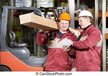 倉庫労働者, マニュアル