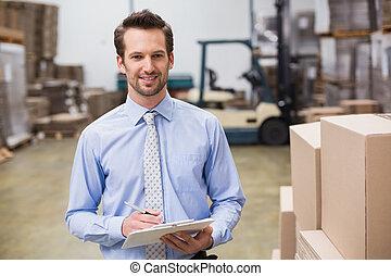 倉庫, 保有物, マネージャー, クリップボード