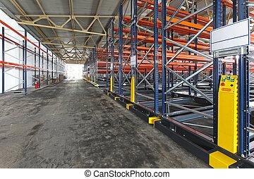 倉庫, 分配