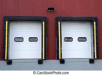 倉庫, 分配, 産業