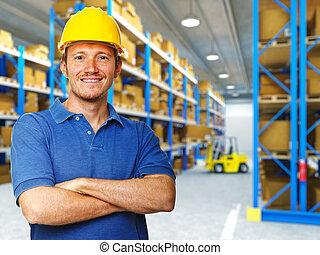 倉庫, 労働