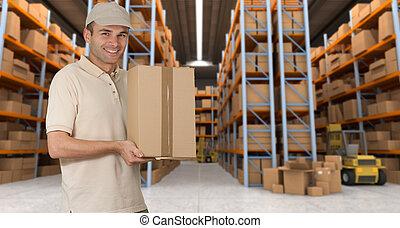 倉庫, 商品, レセプション