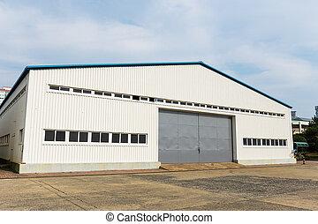 倉庫, 屋外