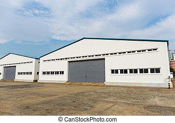 倉庫, 屋外, 貯蔵