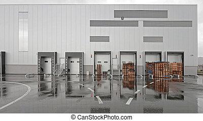 倉庫, 建物