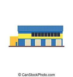 倉庫, 建物, 現代