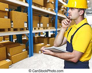 倉庫, 手動 労働者