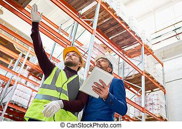 倉庫, 投資家, 取得, 労働者