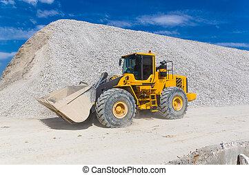 倉庫, 生産, 採石場