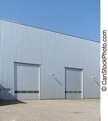 倉庫, 産業