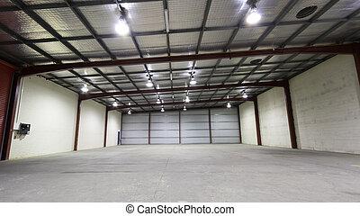 倉庫, 産業, 空