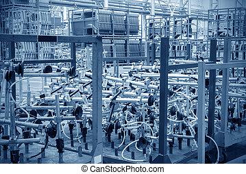 倉庫, 自動車工場