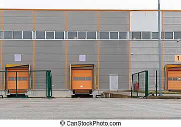 倉庫, 貨物, 分配