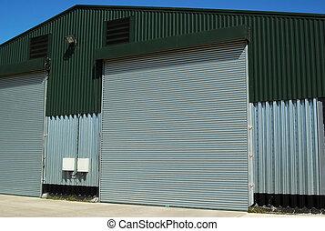 倉庫, 農業