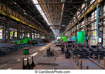 倉庫, 金属