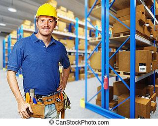 倉庫, handyman