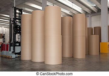 倉庫, (paper), 自動化された