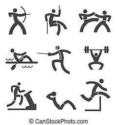 個々の スポーツ, icons.