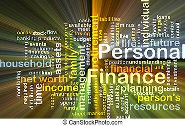 個人的な金融, 背景, 概念, 白熱